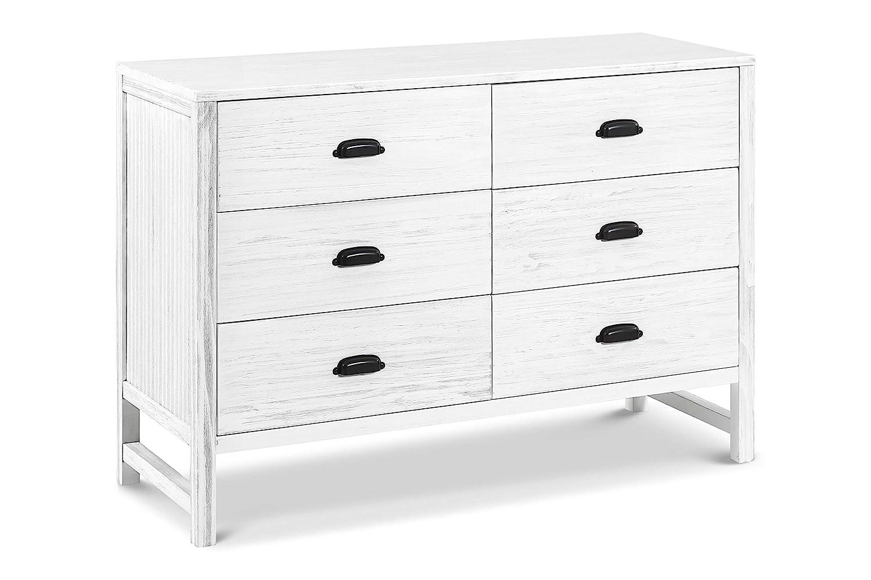 Davinci Fairway 6 Drawer Double Dresser, Cottage White DaVinci - DROPSHIP M13516CGW