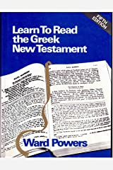Learn to Read the Greek New Testament Hardcover