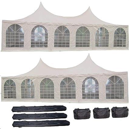 Amazon.com  DELTA Canopies 40u0027x20u0027 PVC Pagoda Tent - Heavy Duty Party Wedding Canopy Gazebo - with Storage Bags  Garden u0026 Outdoor  sc 1 st  Amazon.com & Amazon.com : DELTA Canopies 40u0027x20u0027 PVC Pagoda Tent - Heavy Duty ...