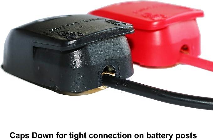 Connecteurs /à D/égagement Rapide de Batterie Connecteurs de Bornes de Batterie 1 Paire de Bornes de Batterie pour Bornes de Batterie de Bateau//Camion//Voiture//Fourgonnette