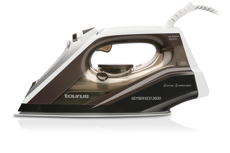 Punta de precisi/ón 160 g//min Taurus Geyser ECO 2600 2600-Plancha W regulador de Vapor y Temperatura