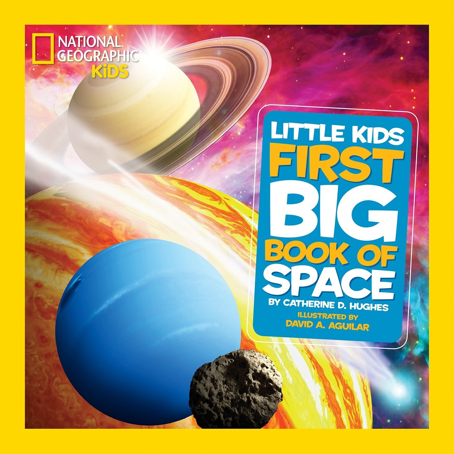 National Geographic Little Kids First Big Book Of Space Hardcover Oct 9 2012