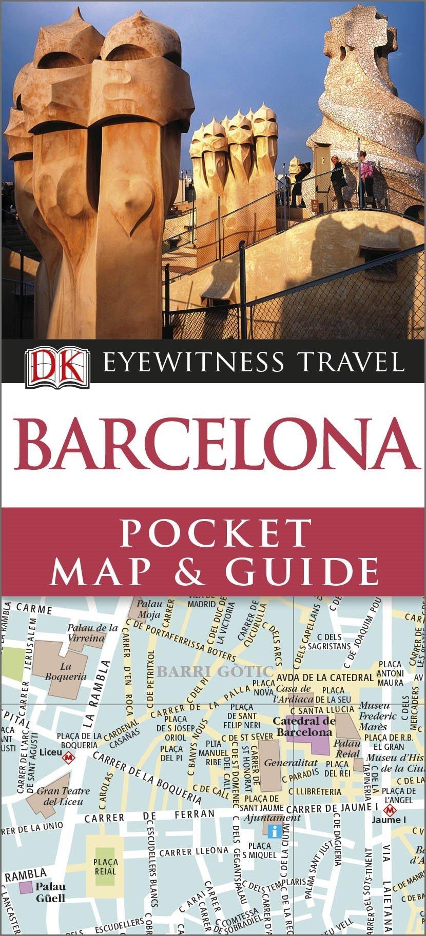 DK Eyewitness Pocket Map And Guide Barcelona Amazoncouk DK - Barcelona map guide