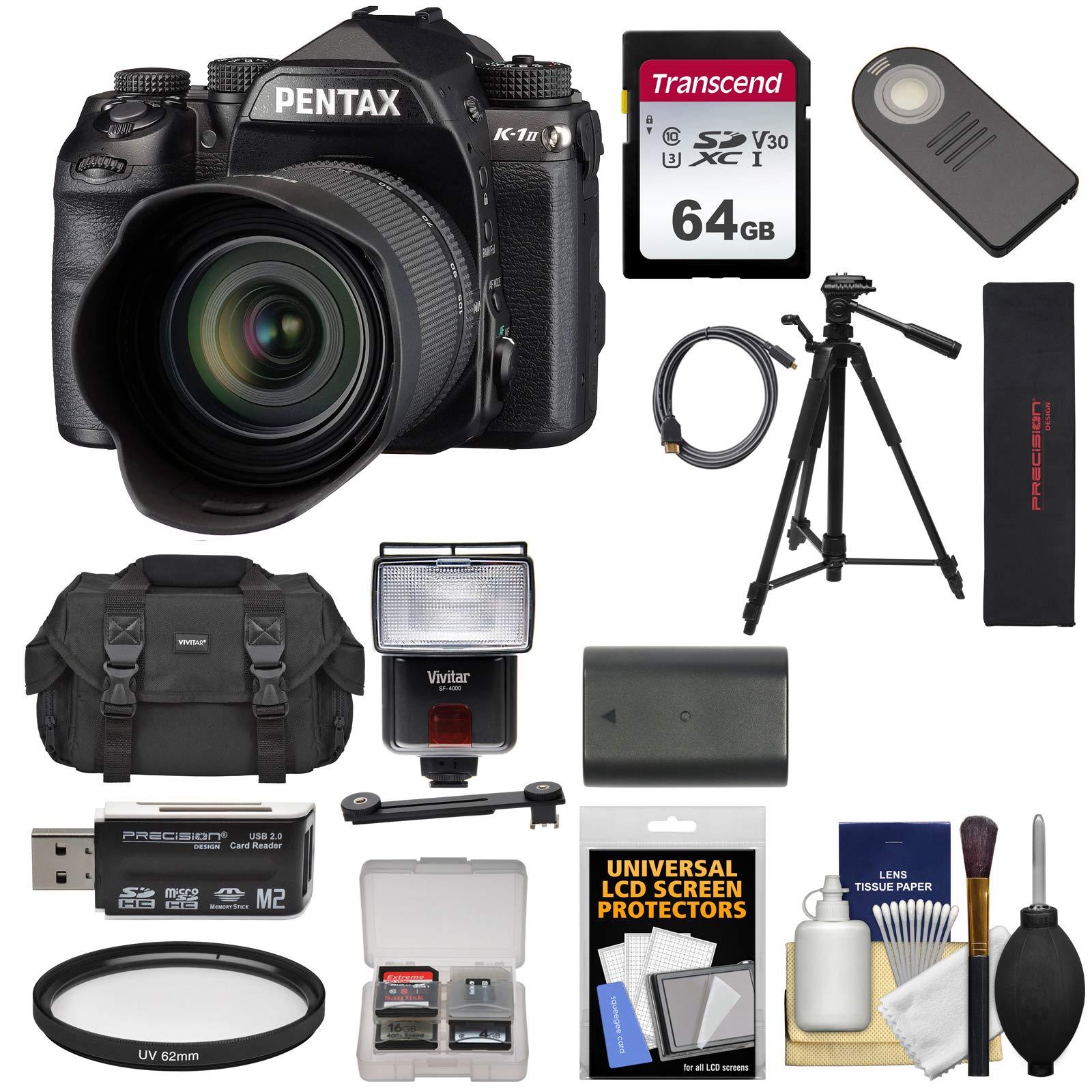 دوربین SLR دیجیتال Wi-Fi Full Frame Pentax K-1 Mark II