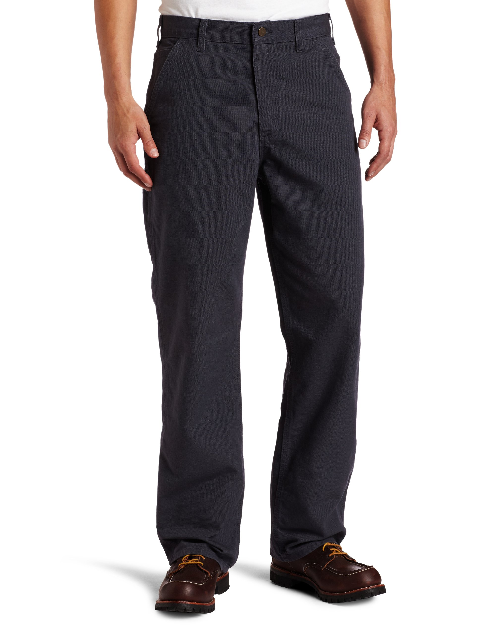 Carhartt Men's Washed Duck Work Dungaree Pant,Petrol Blue,44W x 30L