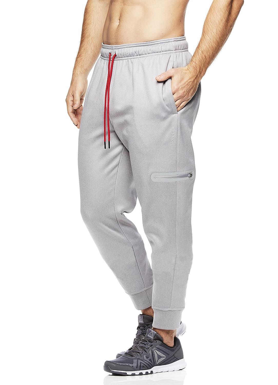 Reebok Men s Radar Performance Jogger Workout Pants at Amazon Men s Clothing  store  fb8e1f846