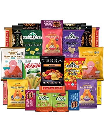 f0b2ee86b26 Healthy Vegan Snack Assortment Care Package - Popcorn