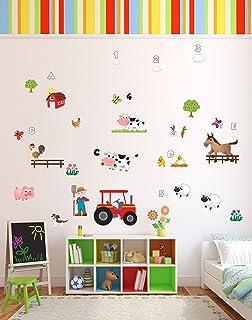 Fun U0027Old MacDonald Had A Farmu0027 Animals Nursery Rhyme Wall Stickers / Wall  Decals Part 98