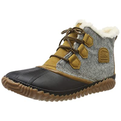 Sorel - Women's Out 'N About Plus Waterproof Boot, Leather/Felt | Snow Boots