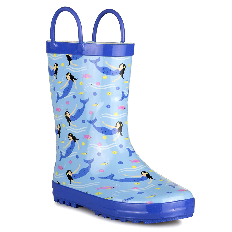 5177ba1261e0ee Chillipop Kid s Rainboots - Fun Prints
