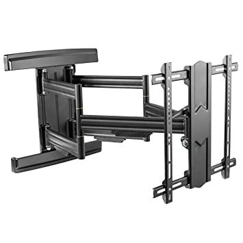Ricoo Support Tv Mural Incurvé Orientable Inclinable S7544 B Meuble