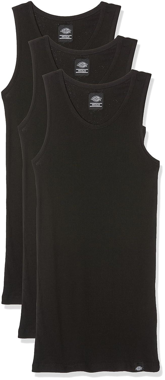 Dickies Men's Vest Pack of 3 06 210115_60% Baumwolle 40% Polyester