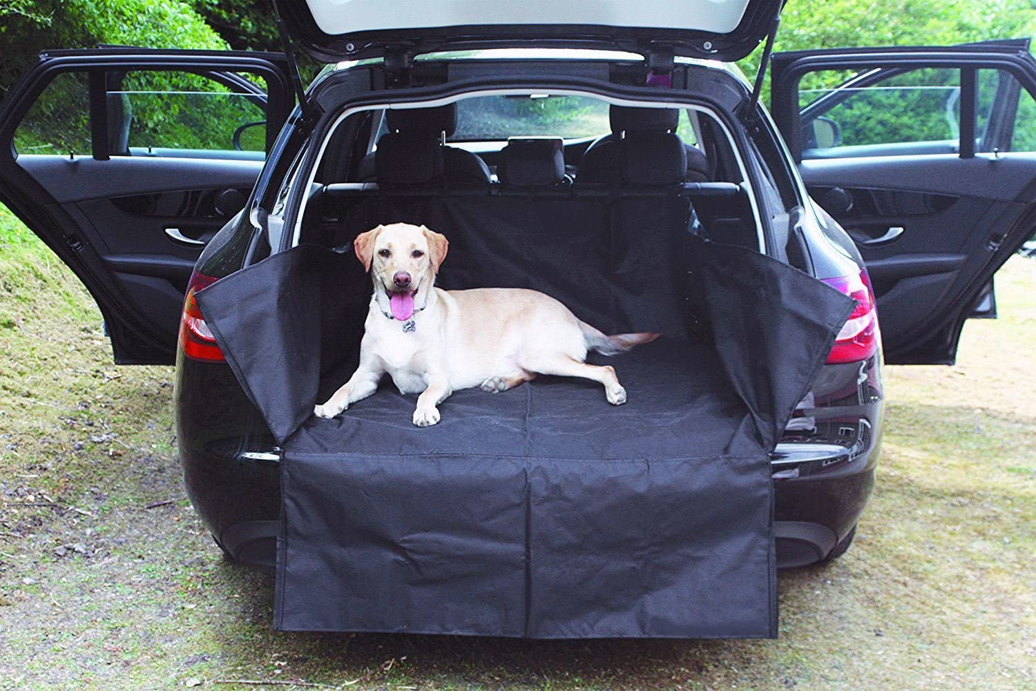 UKB4C Heavy Duty Water Resistant Car Boot Liner Mat Bumper Protector for X3 All Years