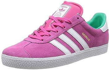 Adidas Originals Gazelle 2 J Unisex-Kinder Sneaker, Pink (Rose (Rose ... 0ed54cda16