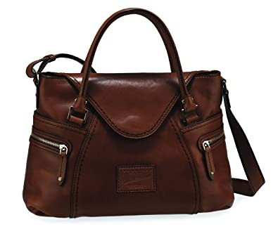 41621efca7ca The Bridge Leather Woman bag Gaucho medium ICONS black 04634001 20   Amazon.co.uk  Shoes   Bags