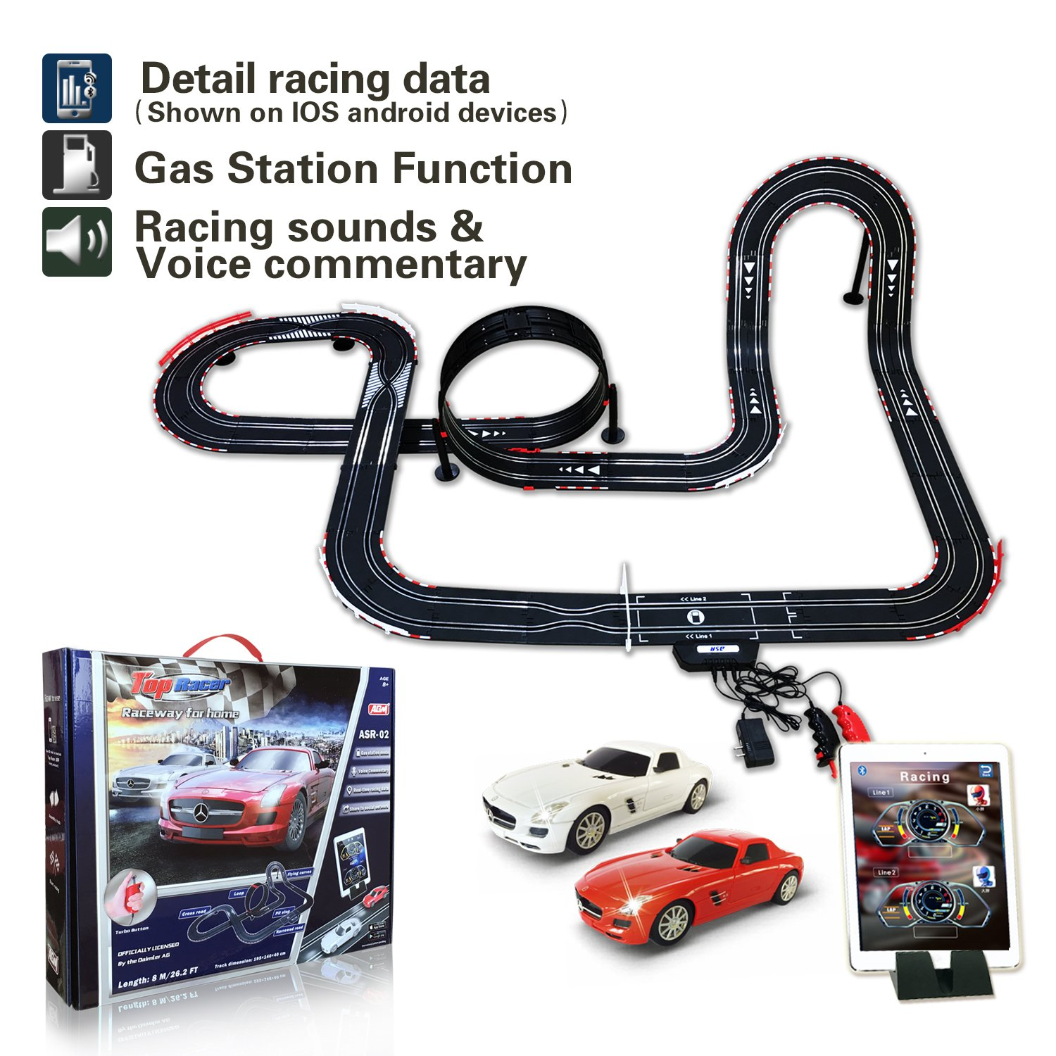 Amazon.com: Slot Cars, Race Tracks & Accessories: Toys & Games ...