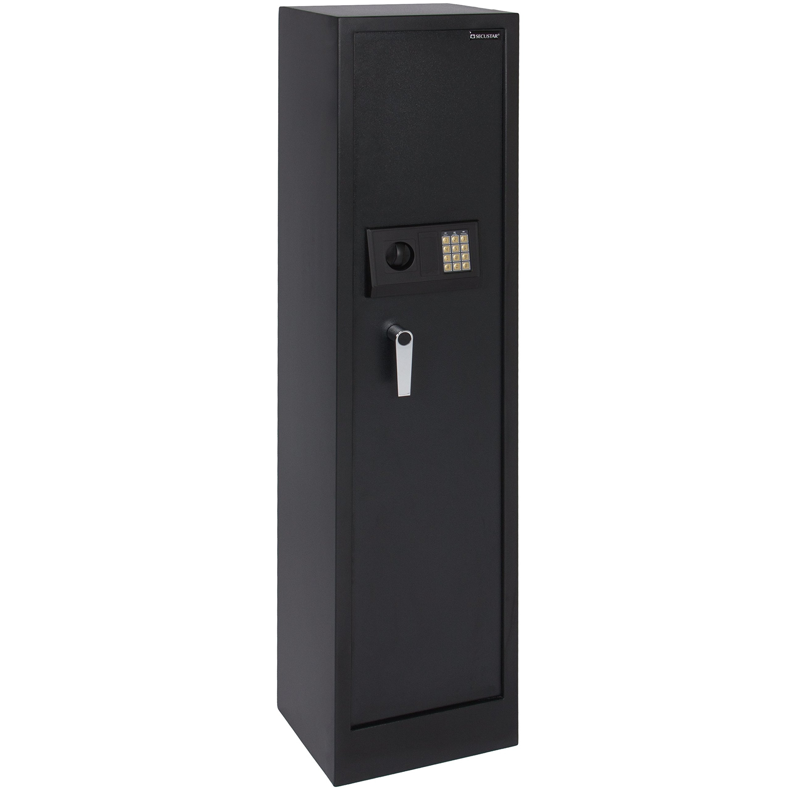 BCP Large 5 Rifle Digital Gun Safe Electronic Lock Storage Steel Cabinet Firearm by Best Choice Products