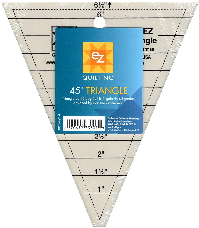 Simpli-EZ 8829421 45-Degree Triangle Quilting Tool Simplicity Creative Group Inc