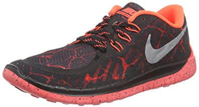 pretty nice a8c61 d4e1a Amazon.com | Nike Free 5.0 Lava (GS) Boys' Running Shoes ...