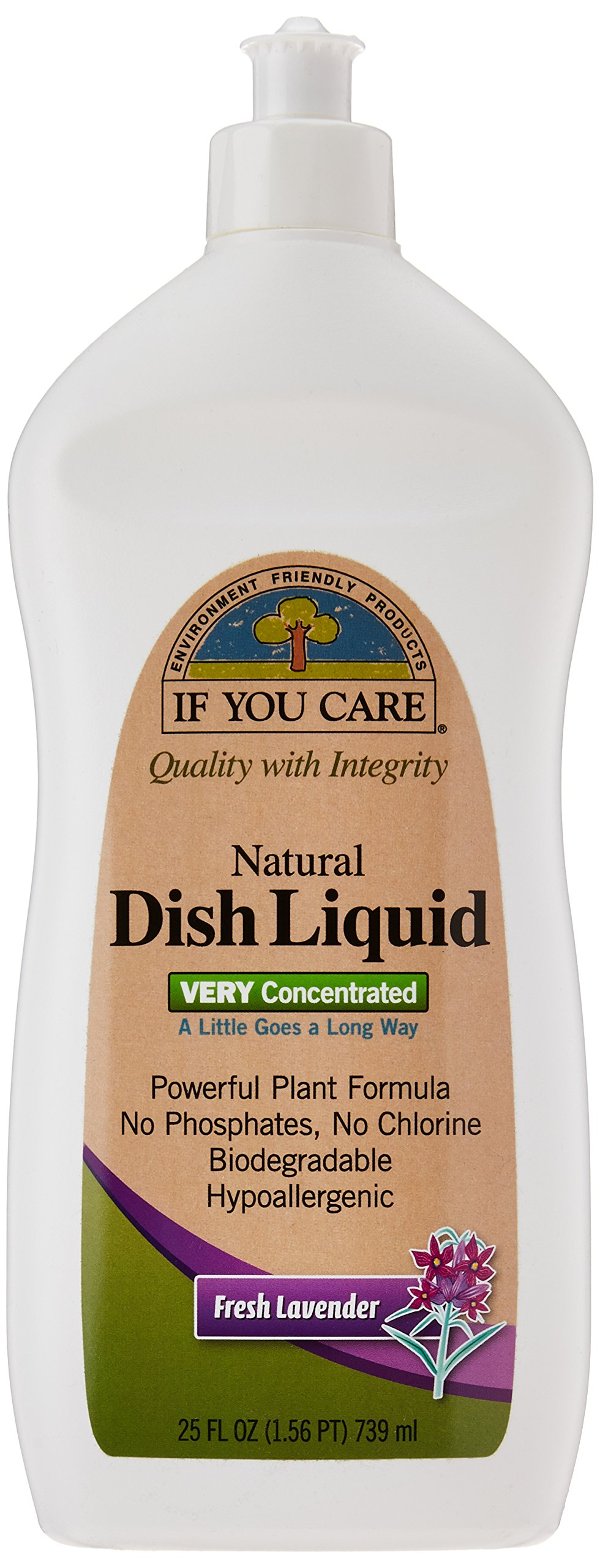 IF YOU CARE Natural Dish Liquid, Fresh Lavender, 25 Ounce