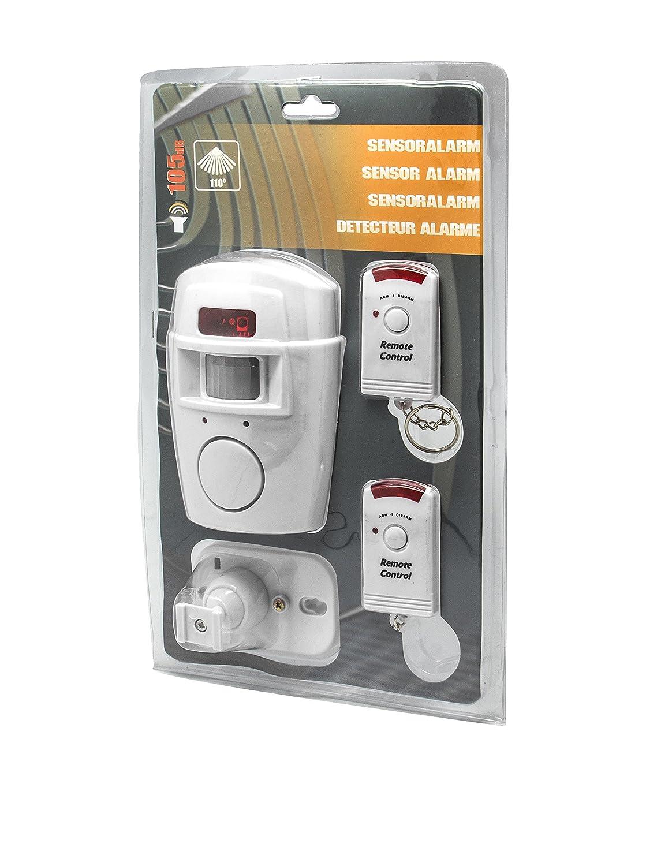 UNOTEC Alarma Volumétrica Autónoma Con 2X Mandos: Amazon.es ...