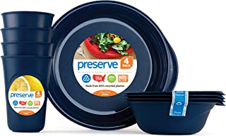 product image for Preserve, Everyday Tableware Set, Midnight Blue