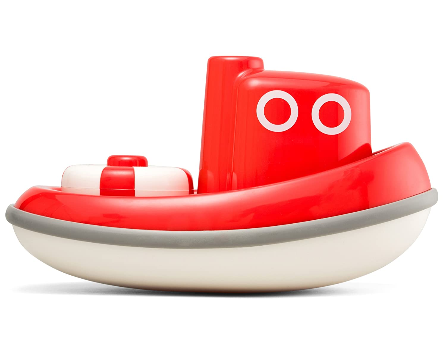 Amazon.com: Kid O Floating Tug Boat Toddler Bath Toy - Red: Toys & Games