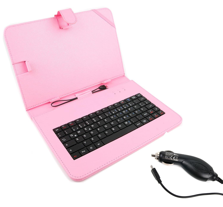 PARA su Samsung Galaxy Tab 4 10,1: Deutsche funda teclado ...