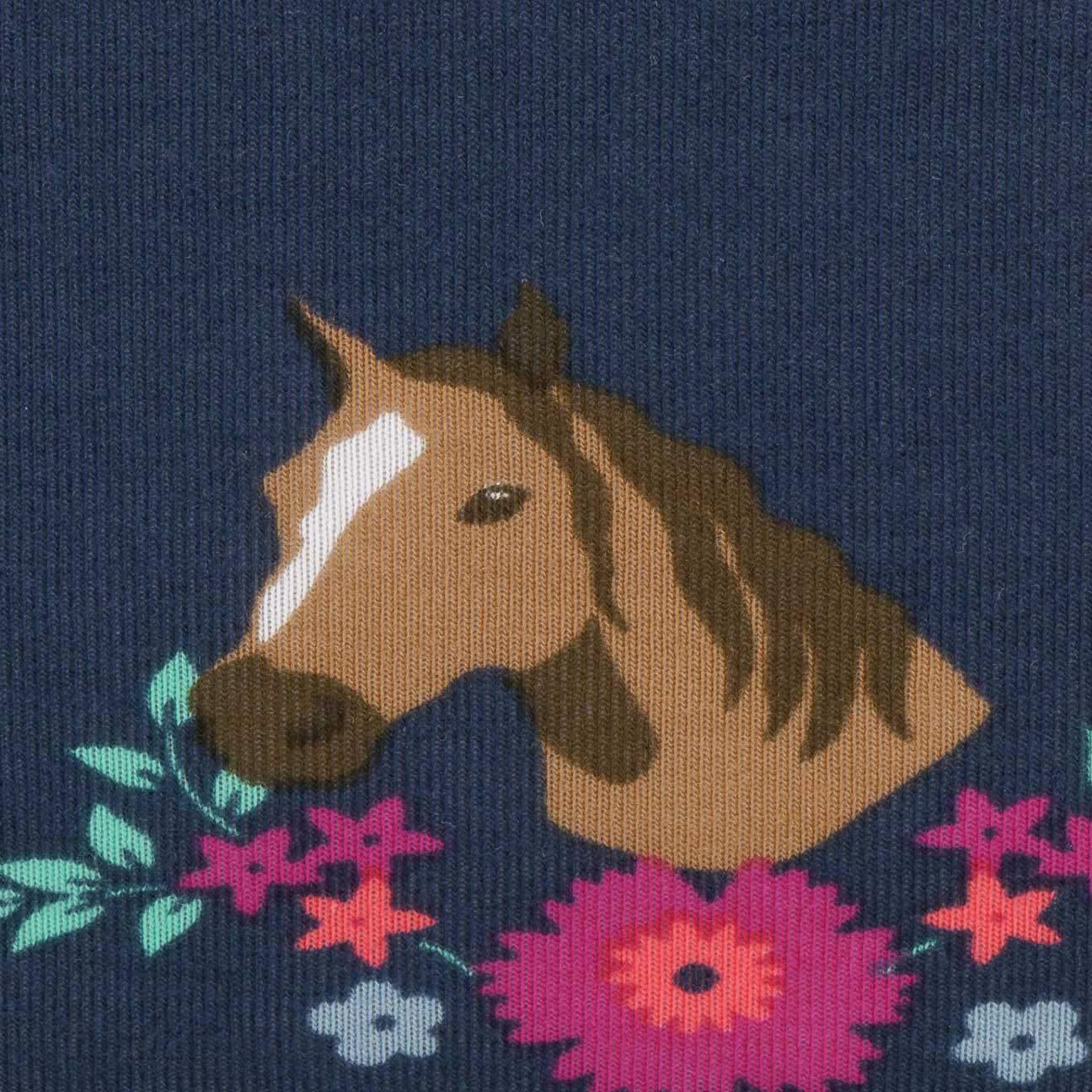 dunkelblau Pferde M/ädchen Baby Loop Allrounder Sterntaler 1521958 UV-Schutz 50+