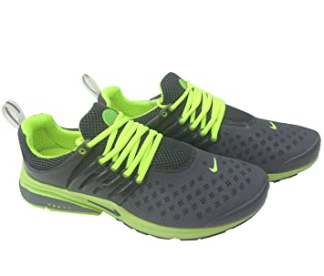 wholesale dealer c2468 34177 Nike Air Presto Carbon Grey Fluorescent Mens Size 10 Sneakers Trainers Shox  Shoes