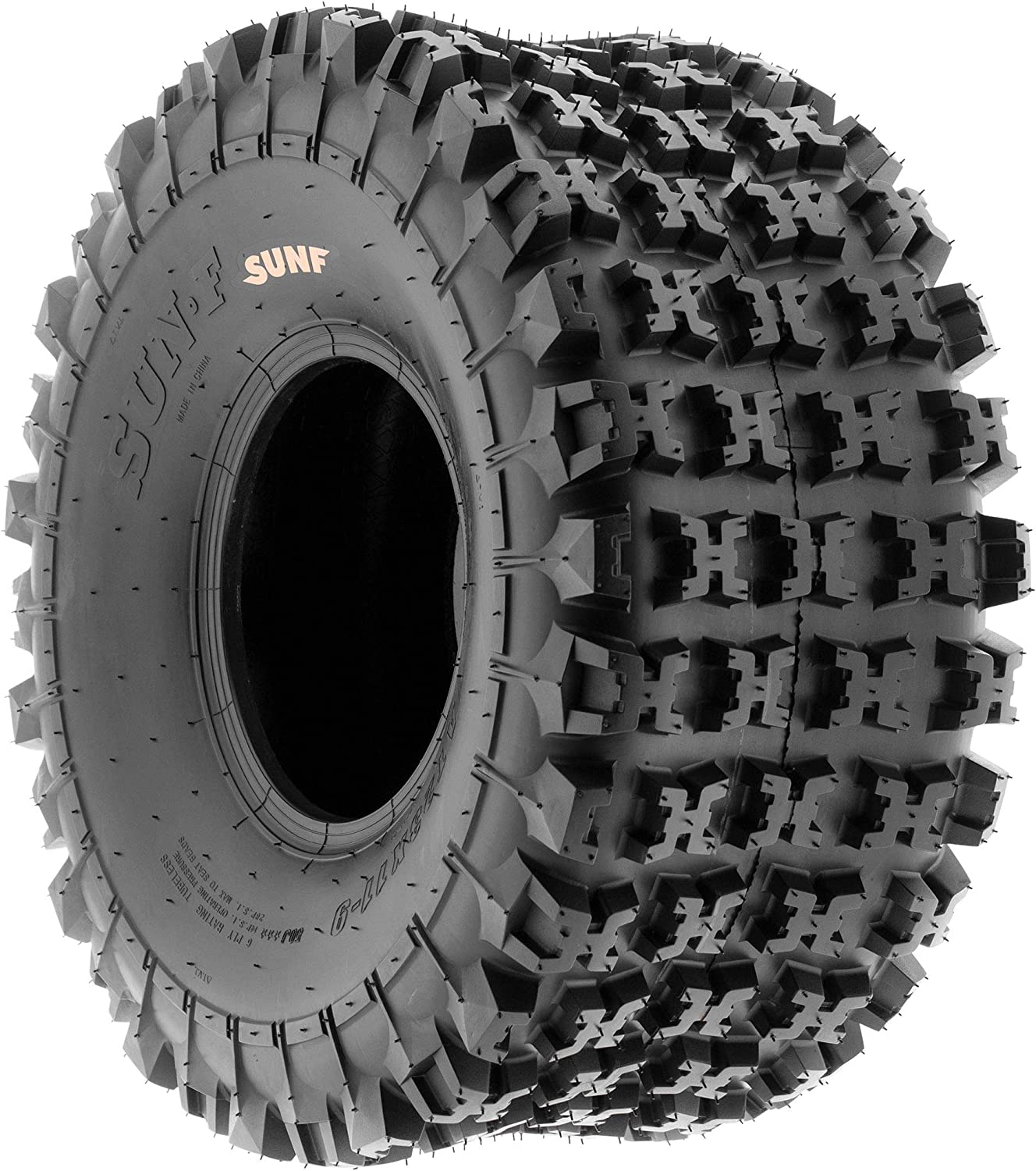 Bundle SunF 19x7-8 20x11-8 ATV UTV Tires 6 PR Tubeless A027