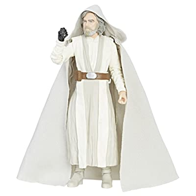 Star Wars The Black Series Episode 8 Luke Skywalker (Jedi Master), 6-inch: Toys & Games