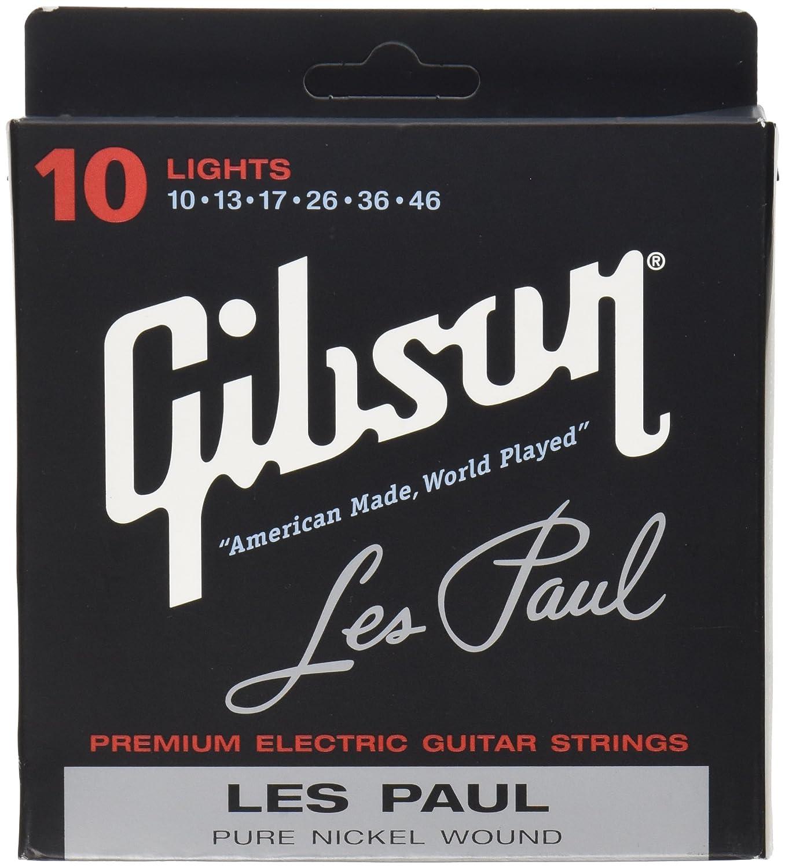 .046 Special Alloy Wound Hervorragende Gibson E-Gitarren Saiten Light .010