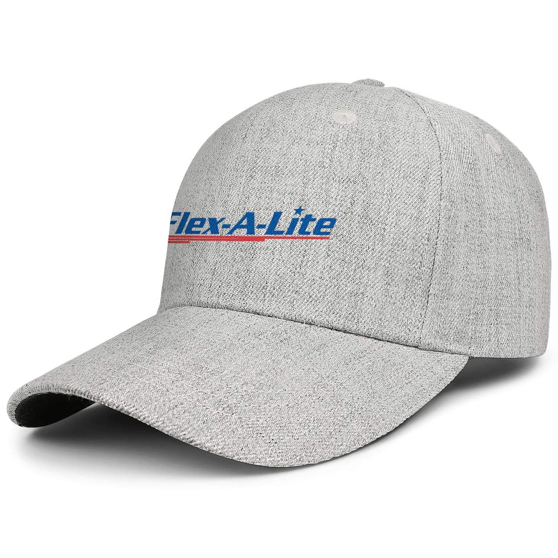 COOLGOOD Flex-A-Lite1 Adjustable Wool Blend Baseball Cap Men Women Soft Travel Hat