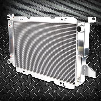 3-ROW ALUMINUM RACING RADIATOR+2 FAN 85-96 FORD F-150//F-250//F150//F SUPER DUTY V8