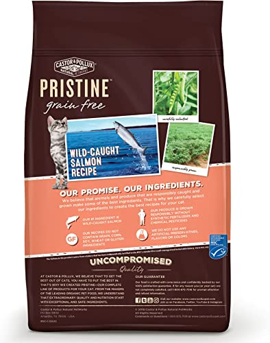 Castor Pollux Pristine Grain Free Dry Cat Food