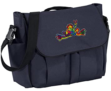 b9fe58884381 Amazon.com : Peace Frog Diaper Bags Peace Frogs Baby Shower Gift for ...