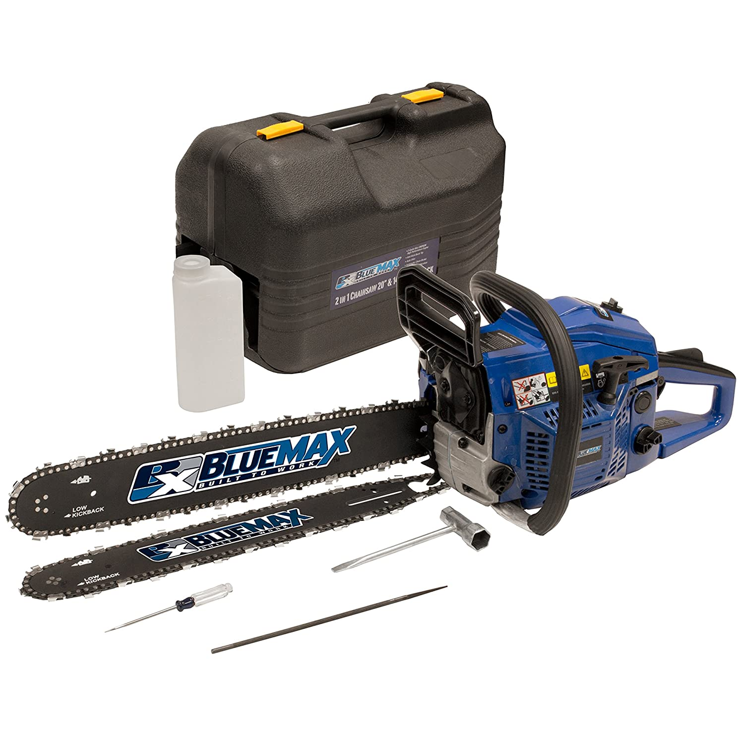 8. Blue Max 8902 - Affordable Gas Chainsaw
