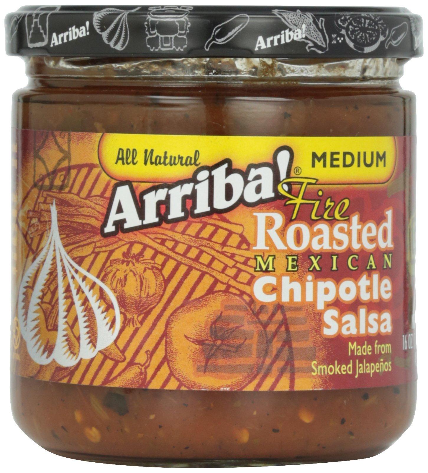 Arriba Chipotle Salsa, 16 oz