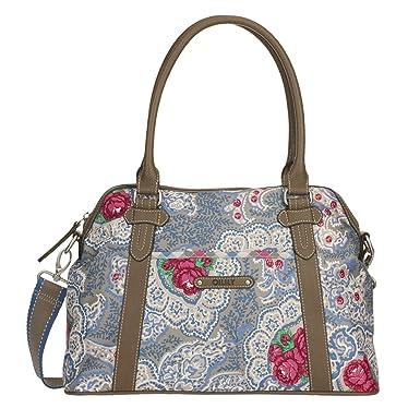24ced69f1d9e8 Oilily Apron M Carry All Beige Damen Handtasche Tasche Henkeltasche  Umhängetasche