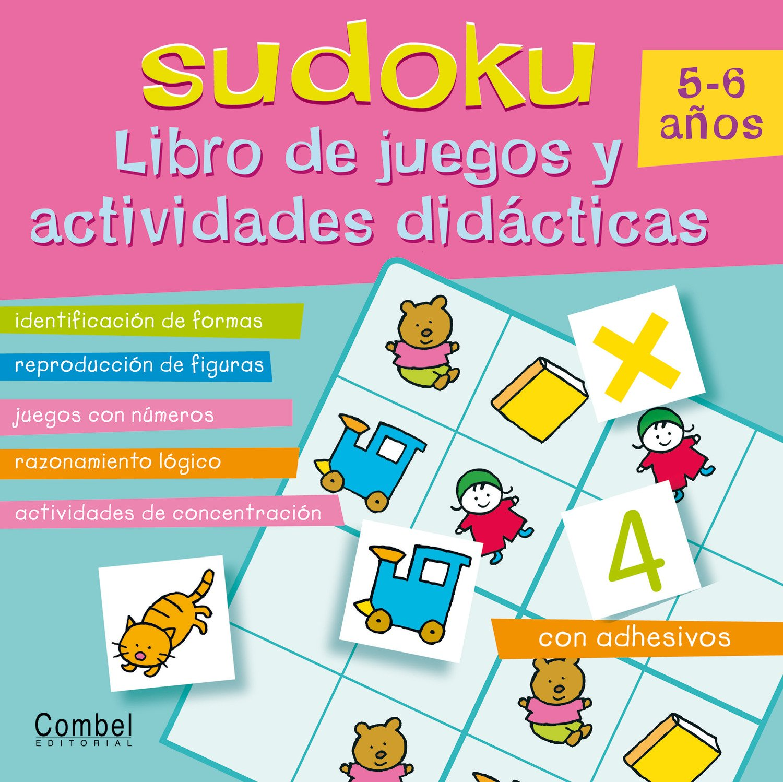 Download Sudoku 5–6 años: Libro de juegos y actividades didácticas (Spanish Edition) pdf