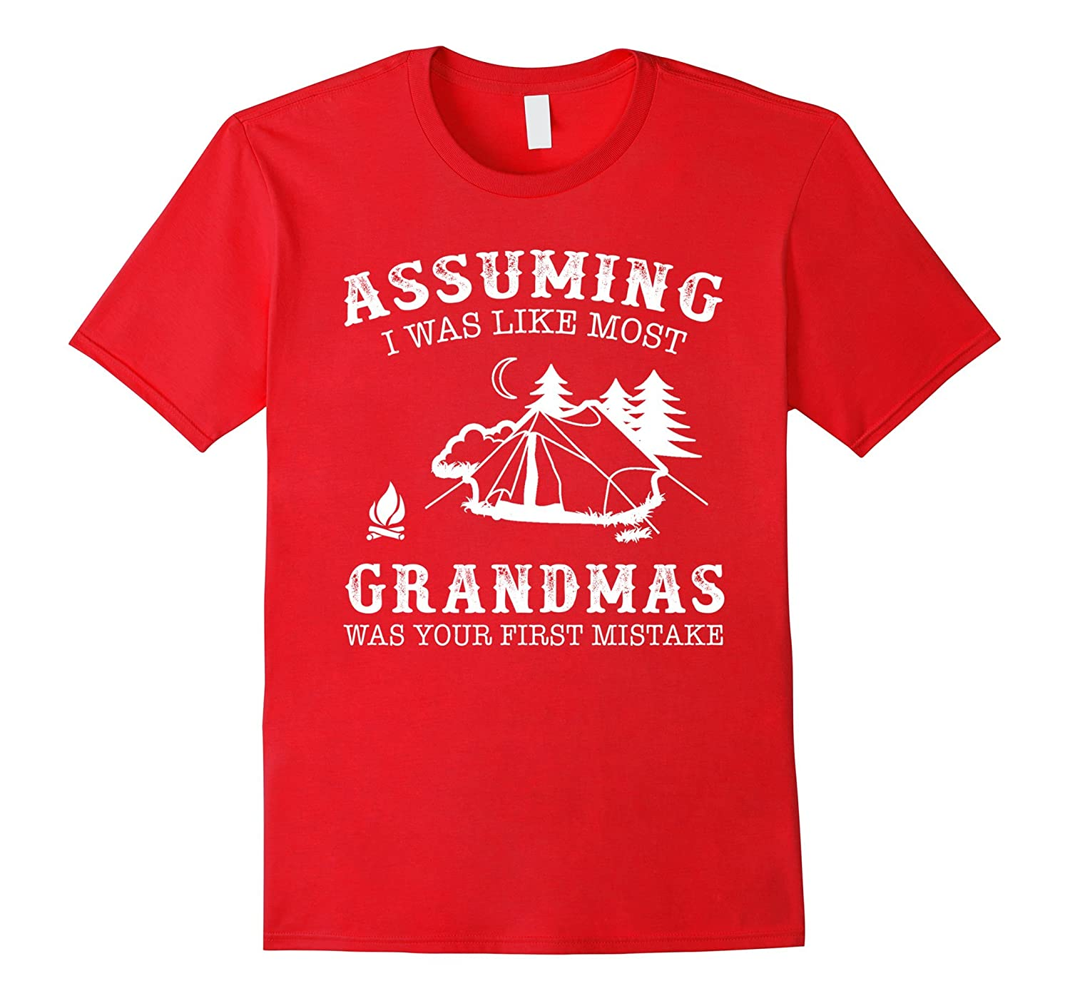 Assuming i was like most grandmas was first mistake Camping-CD
