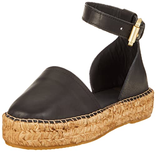 d3ea40e5c5 Royal RepubliQ Women's Wayfarer Blk Closed Toe Sandals, Black (Black 01), 3