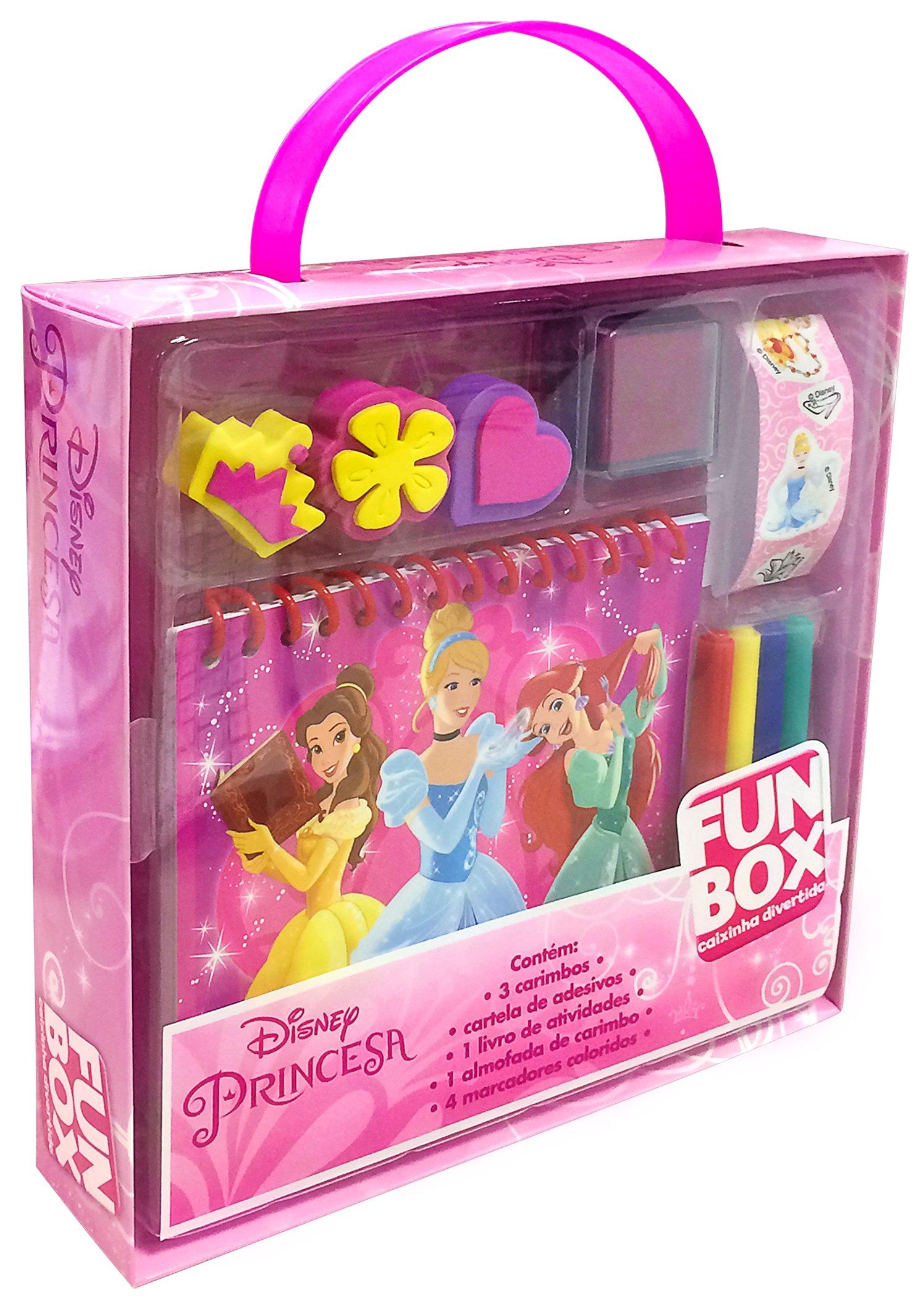 Disney Princesas Caixa Colecao Fun Box Varios Autores