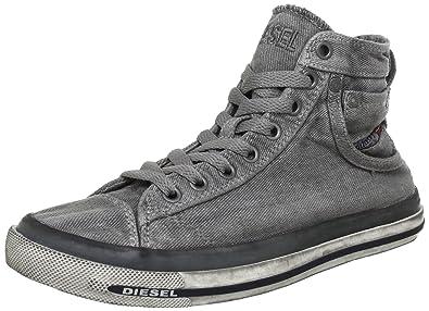 Diesel MAGNETE EXPOSURE IV W Y00638PS752, Damen Sneaker, Grau (Gunmetal  T8080), c5823c3e6b