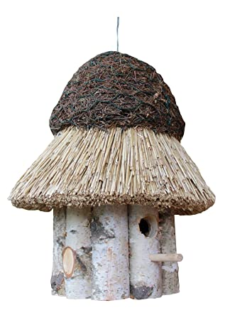 Reetdach Vogelhaus Thatched Roof Nesting Bird Villa No1 Best