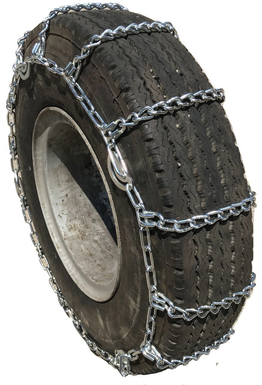 TireChain.com 2247 295/75-22.5, 305/70-22.5, 275/80-24.5, 285/75-24.5 Truck Tire Chains with Cams, priced per pair