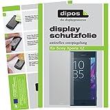 dipos Sony Xperia XZ Schutzfolie (6 Stück) - Antireflex Premium Folie matt