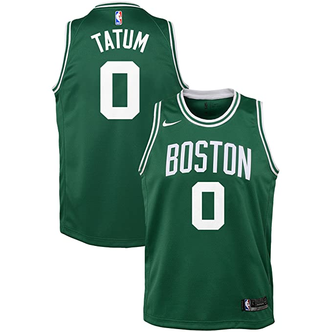 Nike NBA Boston Celtics Jayson Tatum 0 2017 2018 Icon Edition Jersey Official, Camiseta de Niño: Amazon.es: Ropa y accesorios