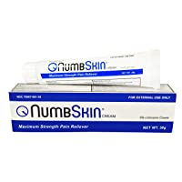 New Numbskin Numbing Cream 5% Lidocaine Topical Anesthetic– Fast Acting Tattoo Numbing...